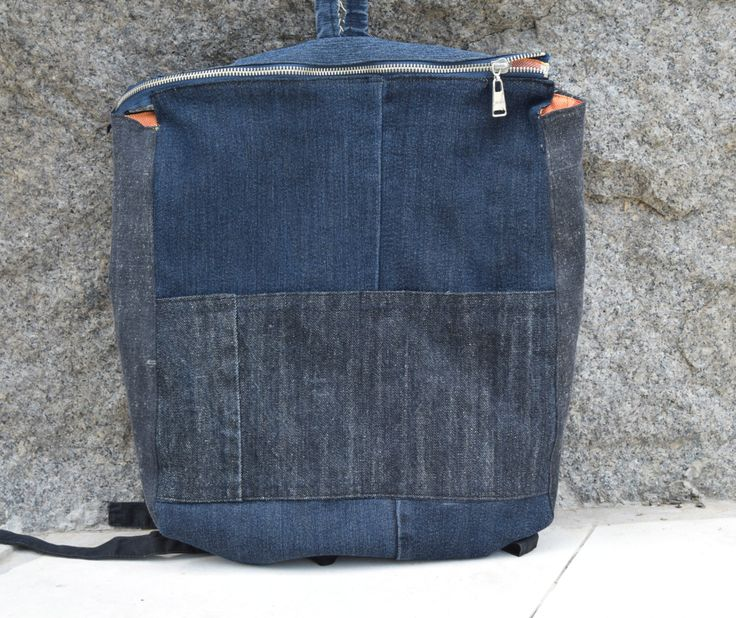 Welcome to my shop! All models that I offer to you are handmade with love and fantasy! I recycle denim jeans in these very useful, comfortable and original urban bags and backpacks. Whether you will go to work, go shopping, to school, university or just on a walk, one of these bags will be irreplaceable friend. All my models are with lining, easy fastering and a lot of pockets. All bags can be washed in washing machine.  Beautiful and original Denim backpack! This recycled Boho backpack is…