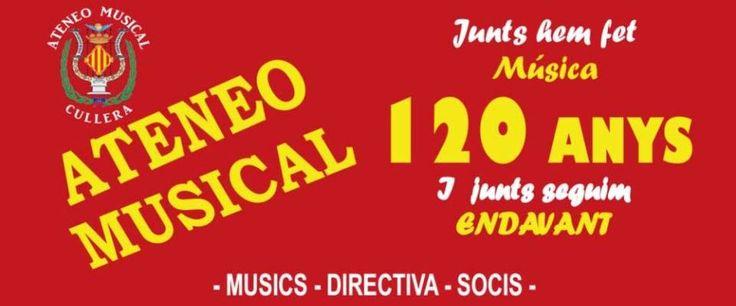 Fiestas culturales y musicales en honor de la Patrona de la Música Sociedad  Ateneo Musical De Cullera