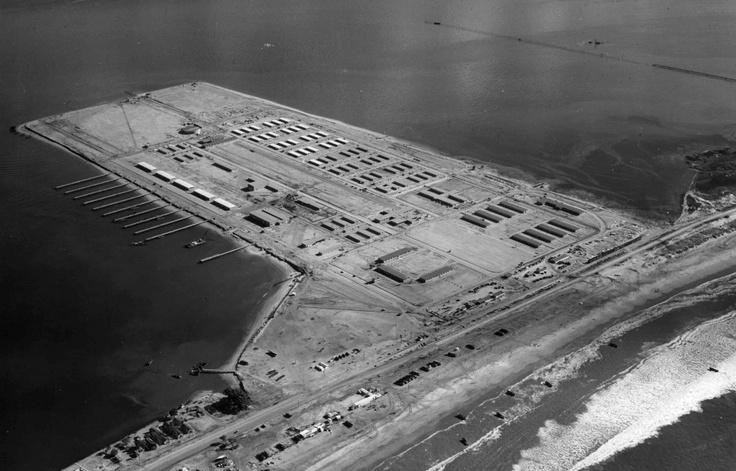 Naval Amphibious Base In 1945