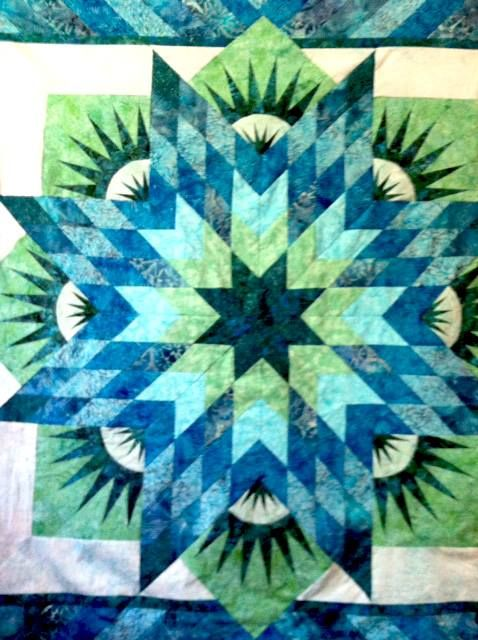 Summer Solstice, Quiltworx.com, Made by Bunny Diet.