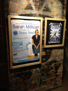 Sarah Millican – Home Bird  Sarah Millican lived up to her reputation. Very funny UK comedian. Great to see her at the Brisbane Comedy Festival.