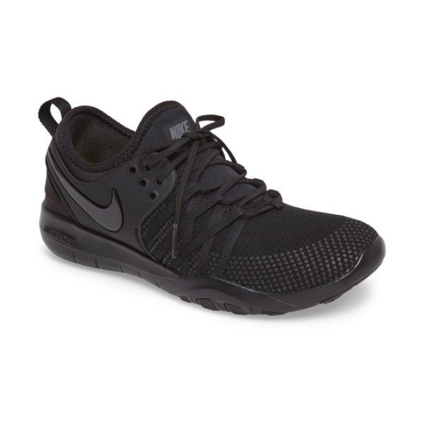 Women's Nike Free Tr 7 Training Shoe ($100) ❤ liked on Polyvore featuring shoes, athletic shoes, athletic training shoes, nike shoes, nike athletic shoes, nike footwear and training shoes