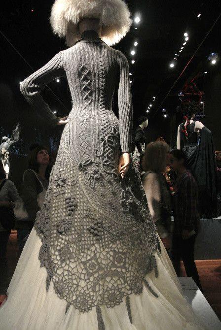 Jean Paul Gaultier - knit dress (back)