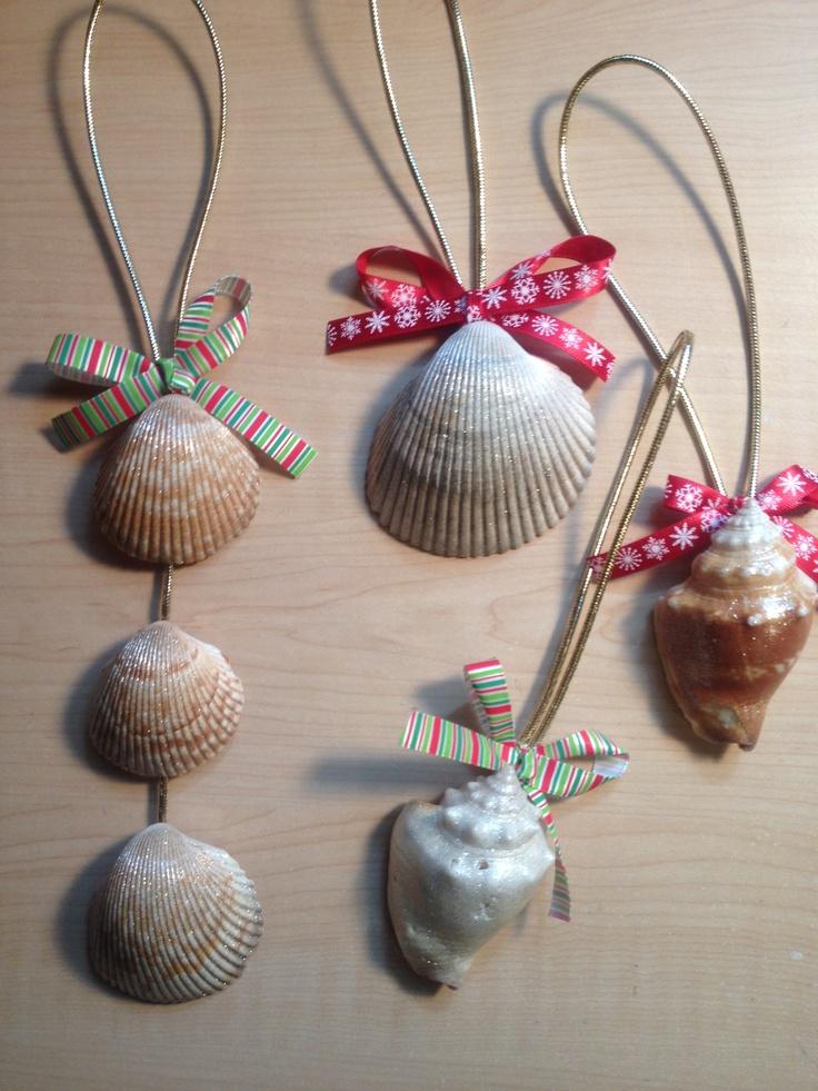 Seashell ornaments... Christmas present idea