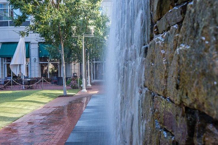 Courtyard Marriot is located in the heart of a bustling downtown Greenville. Instagram photo by Barry Pack // yeahthatgreenville