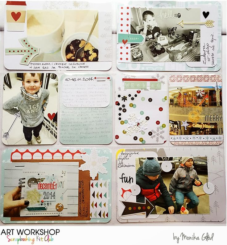 Art Workshop Kit Club November 2014 Pocket Life Kit by Mona Gee