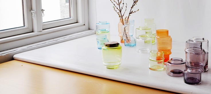 Marion Fortat glass objects