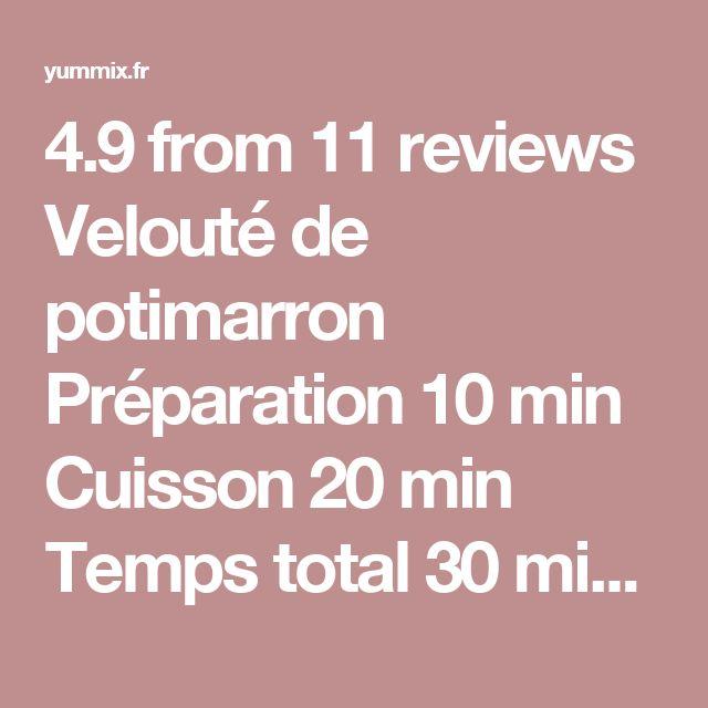 4.9 from 11 reviews Velouté de potimarron  Préparation 10 min Cuisson 20 min Temps total 30 min  Auteur: Lyse Portion(s): 6 assiettes Ingrédients 1 ou 2 oignons (selon leur taille) 1 gousse d'ail 1 morceau de beurre ou 1 c. à s. d'huile d'olive 1 potimarron eau sel poivre facultatif : crème fraîche ou crème végétale, pour servir. Instructions Epluchez 1 gousse d'ail et 1 ou 2 oignons. Placez la gousse d'ail dans le bol du Thermomix et mixez 3 secondes / vitesse 8. Ajoutez les oignons…