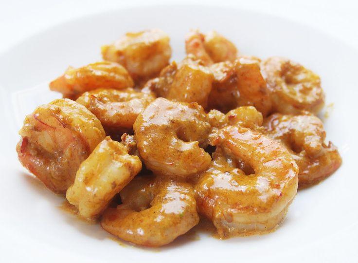 La cuisine de bernard crevettes piquantes express for Cuisine de bernard