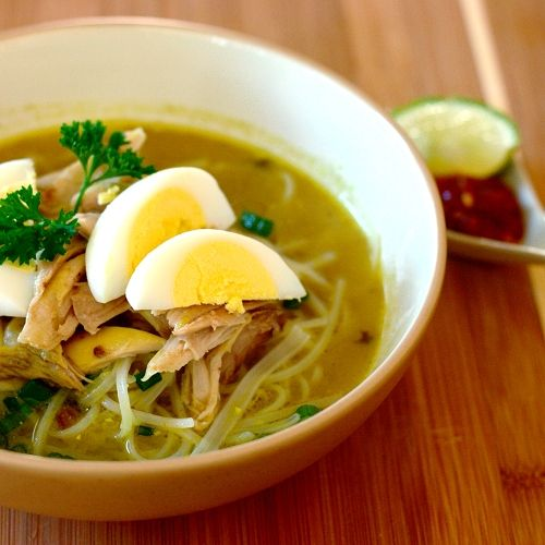 Red Shallot Kitchen: Soto Ayam Ambengan | Foodology | Pinterest