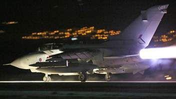 British Fighter Jets At RAF Akrotiri in Cyprus