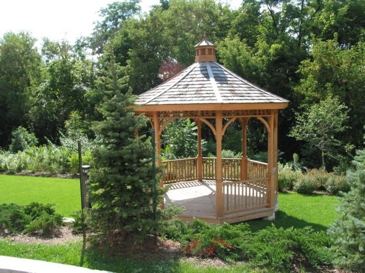 Replacement Ideas for a Gazebo Roof Gazebo