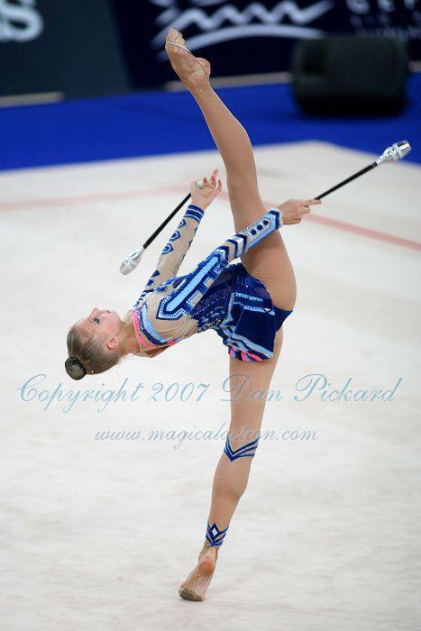 Irina Kovalchuk  #rhythmic #gymnastics