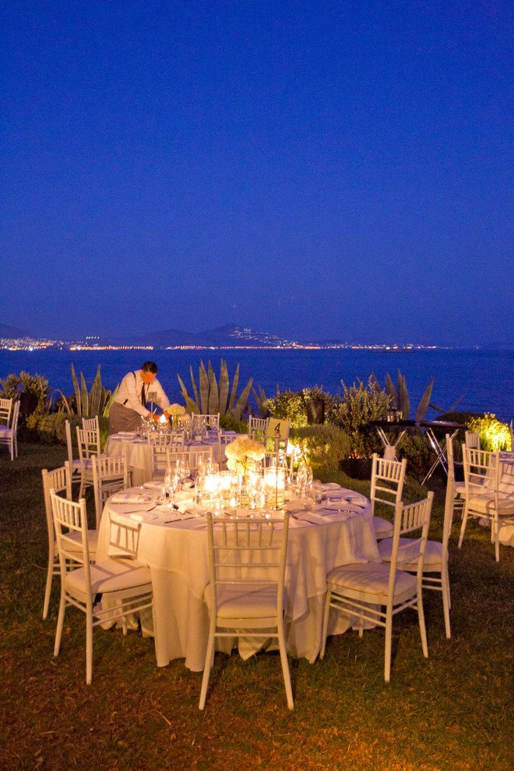 interesting wedding venues ireland%0A Greece Wedding by White Ribbon Boutique Events Coordination
