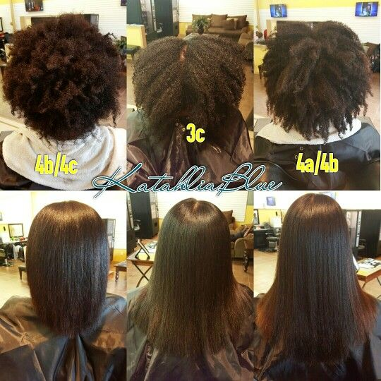 Natural Hair Silk BlowOut Houston Hair Stylist | Katahlia ...