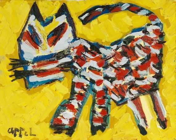 Appel, Karel   Walking cat, 1981.