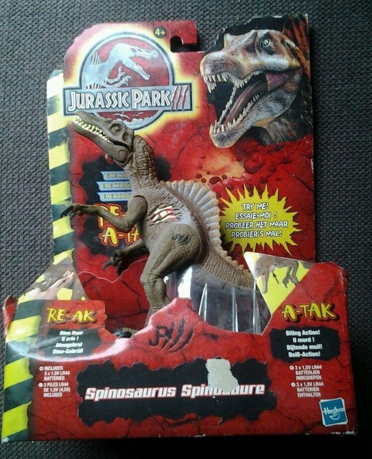 RARE Jurassic park 3 pack spinosaure électronique.