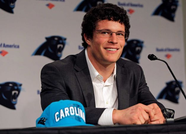 Luke Kuechly 2012 class... Carolina Panthers
