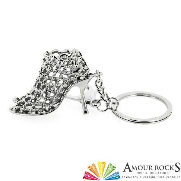 Peep Toe Ankle Boot Key Chain | Gift