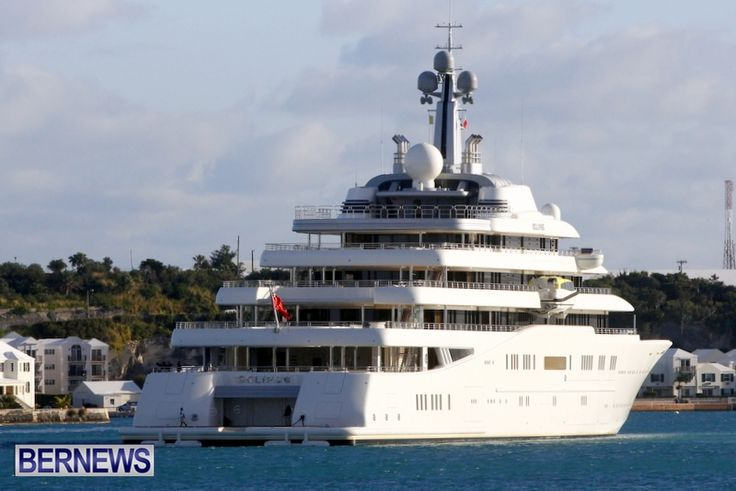 Super yacht in st george s bermuda the eclipse is over 500