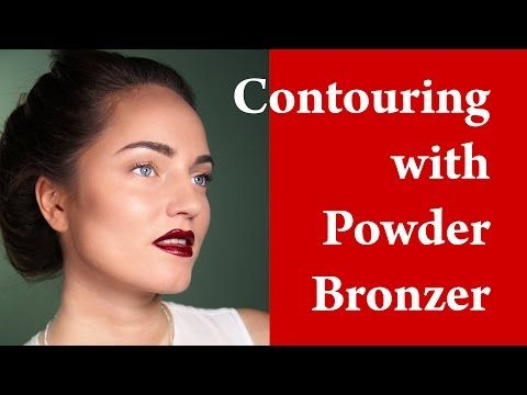 SQUARE FACE MAKEUP - How to contour square face - Contouring and Highlighting - YouTube