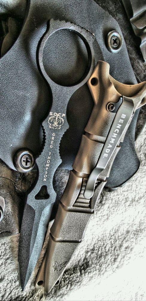 Benchmade – SOCP Dagger 176, Skelentonized Dagger Fixed Knife @thistookmymoney