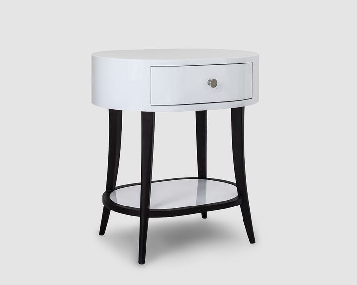 ALMA SIDE TABLE  Dimensions: Width 550mm x Depth 400mm x Height 600mm Available color: Wenge and White Material: Oak Veneer and High Gloss Condition: New, designed in Britain and produced to UK standard and well packed.  Our furniture is designed only for domestic and light commercial use only