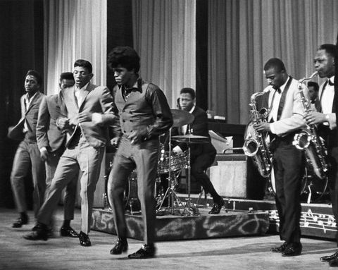 James Brown With The Famous Flames