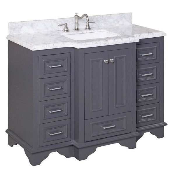 1000 Ideas About Gray Bathroom Vanities On Pinterest Grey Bathroom Vanity Gray Bathrooms And