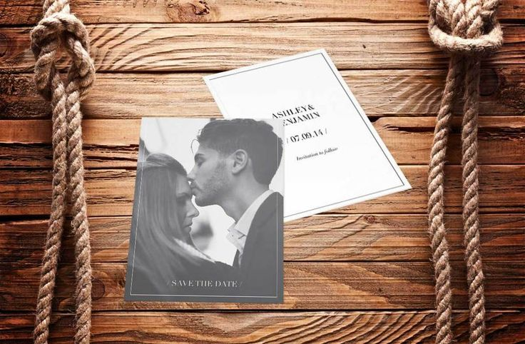#Love Photo Wedding Invite Invitation Save The Date Forehead #Kiss www.fortheloveofstationery.com #savethedate #weddings