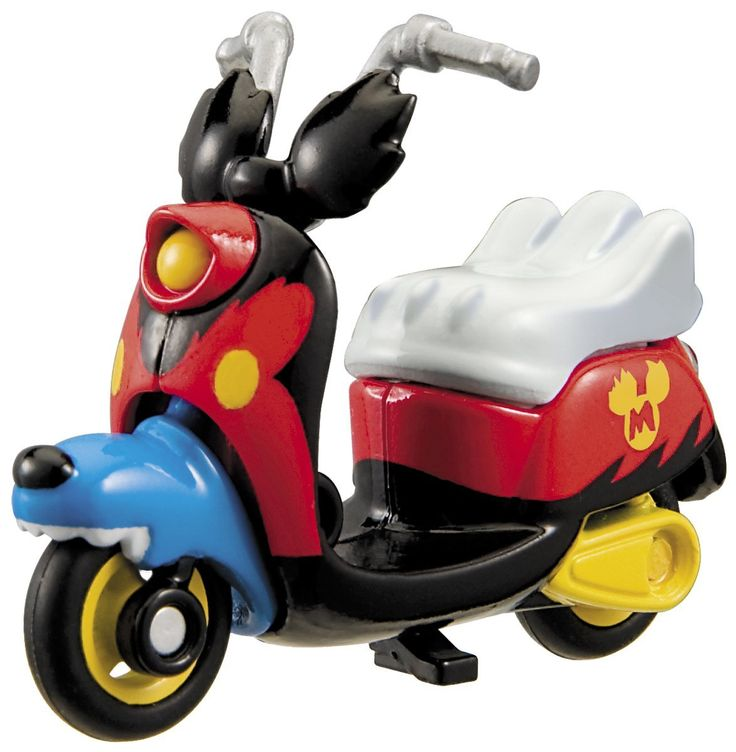 Tomica Disney Motors DM-20 Chimuchimu Mickey Mouse Runaway Brain สินค้าลิขสิทธิ์แท้ นำเข้าจากประเทศญี่ปุ่น เหมาะสำหรับเด็กอายุ 3 ปีขึ้นไป