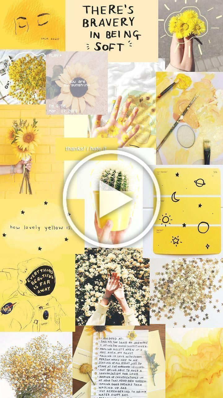 Tons of awesome yellow aesthetic collage wallpapers to download for free. collage yellow #collage #yellow - collage yellow . collage ...