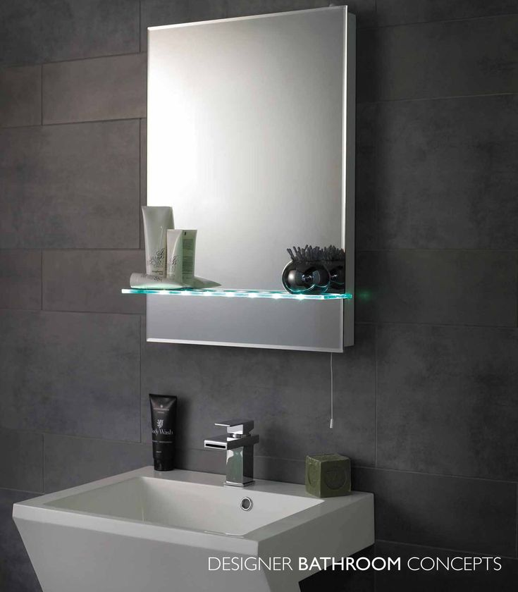 17 Best Ideas About Bathroom Mirror With Shelf On Pinterest Round Bathroom Mirror Bathroom