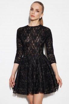 FashionKiller - Siyah Dantel Elbise