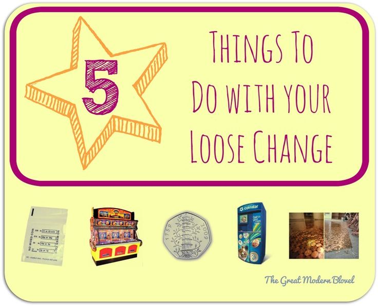 Ching ching ching! 5 things to do with the loose change in your house :-)