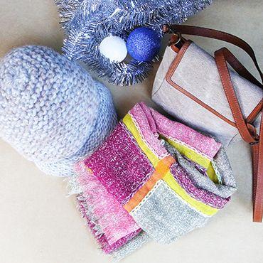 #nickimarquardt #knit #hat #ametandladoue #stole #malababa #smallbag #holidaygift