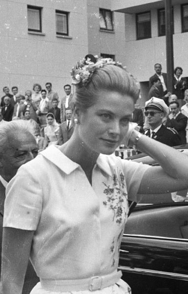 Grace Kelly. Image/Date Uncredited.