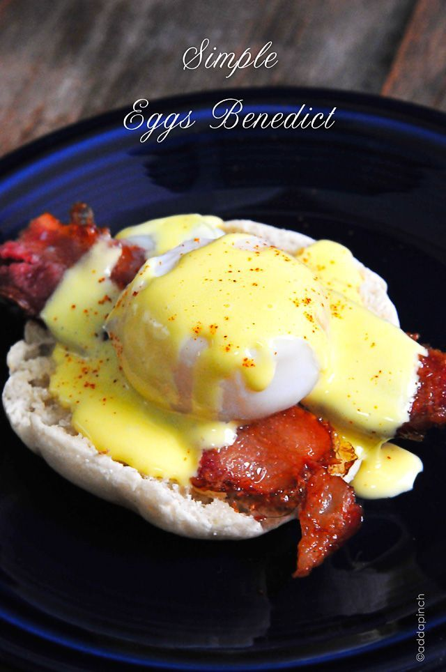Simple Eggs Benedict Recipe with Easy Blender Hollandaise Sauce!