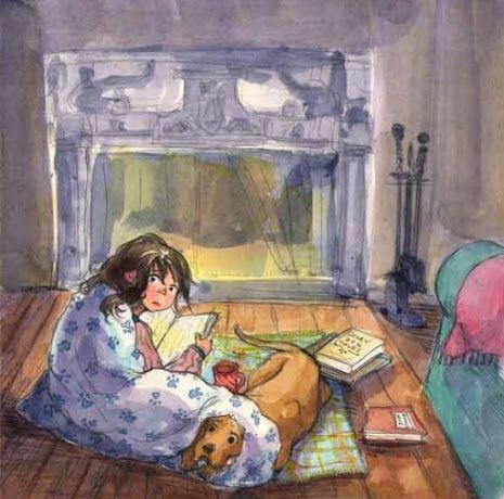 Под одеялом картинка рисунок