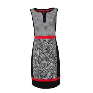 Bianca Black & White Sleeveless Dress