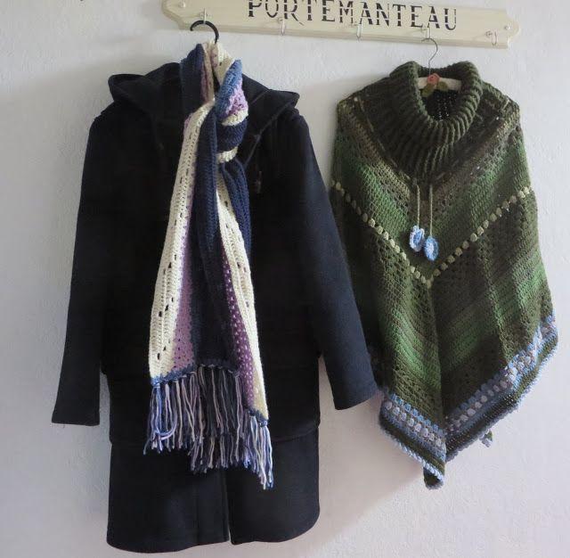 The Little Farmhouse: Gratis patroon warme sjaal met Cygnet Superwash DK...