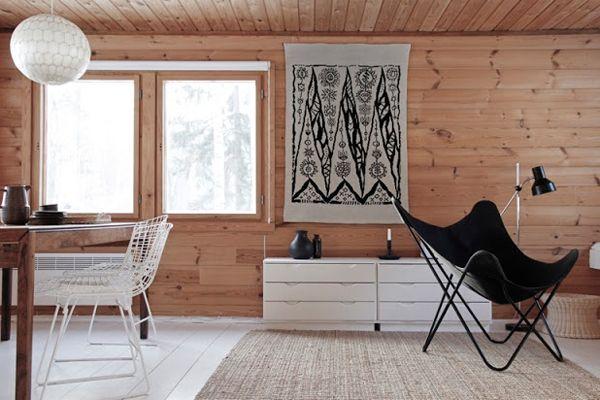 BINNENKIJKEN. Finse blokhut verenigt sobere eenvoud met tijd... - De Standaard Interrior Finland