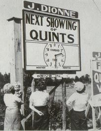 The Dionne Quintuplets - exploitation at its best :(