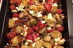 Mediterranes Ofengemüse, ein schmackhaftes Rezept aus der Kategorie Pilze. Bewertungen: 365. Durchschnitt: Ø 4,6.