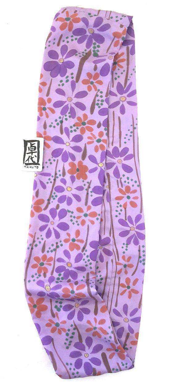 Cerchio sciarpa di seta seta sciarpa dipinta di SilkScarvesTakuyo