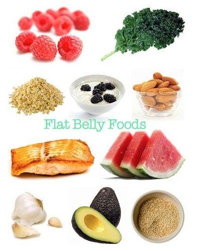 Düz karın için besinler: badem, somon, avokado, sarımsak, yoğurt, ıspanak, karpuz, kinoa
