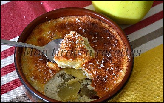 Flans aux pommes légers sans lait et sans gluten
