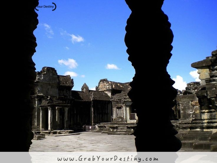 Exploring Angkor Wat in Cambodia #AngkorWat #SiemReap #GrabYourDestiny #Cambodia #JasonAndMichelleRanaldi www.GrabYourDestiny.com
