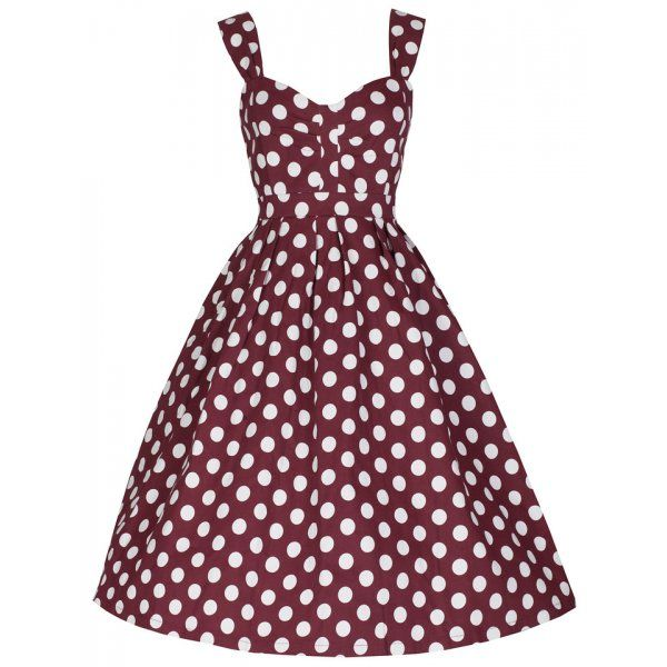 Polka Dot 'Jennah' Swing Dress