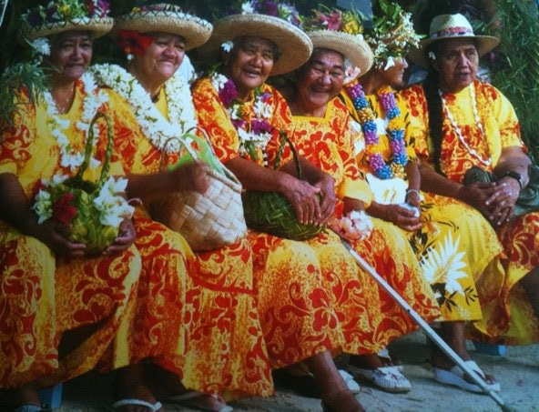 Aloha grandmothers - a line of Tutus!